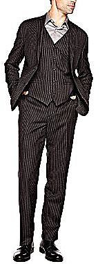 Stafford® Signature Chalk Stripe Suit Separates