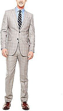 Stafford® Glen Plaid Wool Suit Separates