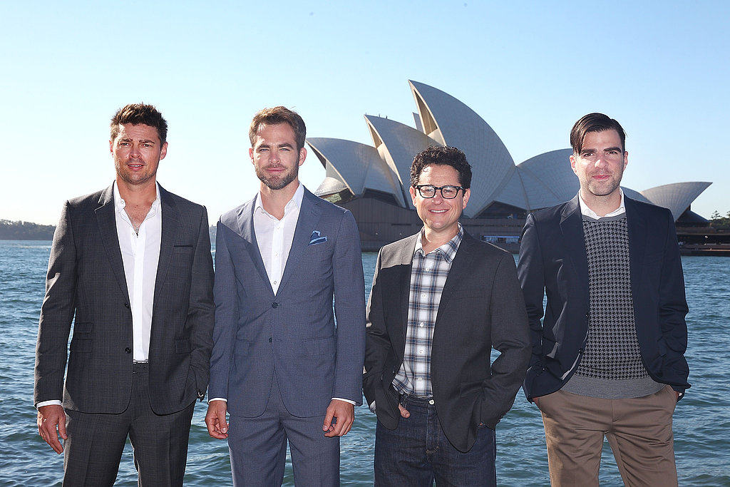 Star Trek comes to Sydney! The franchise's latest installment, Star Trek: Into Darkness, premiered in Australia on April 23, with Karl Urban, Chris Pine, J.J. Abrams and Zachary Quinto all making an appearance.