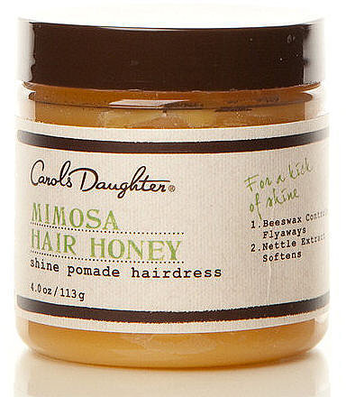 Carol's Daughter Mimosa Hair Honey Shine Pomade Hairdress, 4 oz.