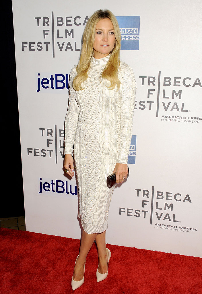 Kate Hudson at the Tribeca Film Festival premiere of The Reluctant Fundamentalist in New York.