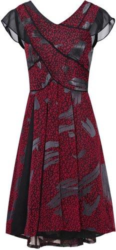 Loretta CHIFFON INSERT DRESS
