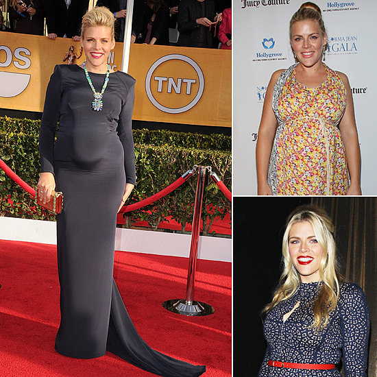 Busy Philipps's Boho-Glam Maternity Style