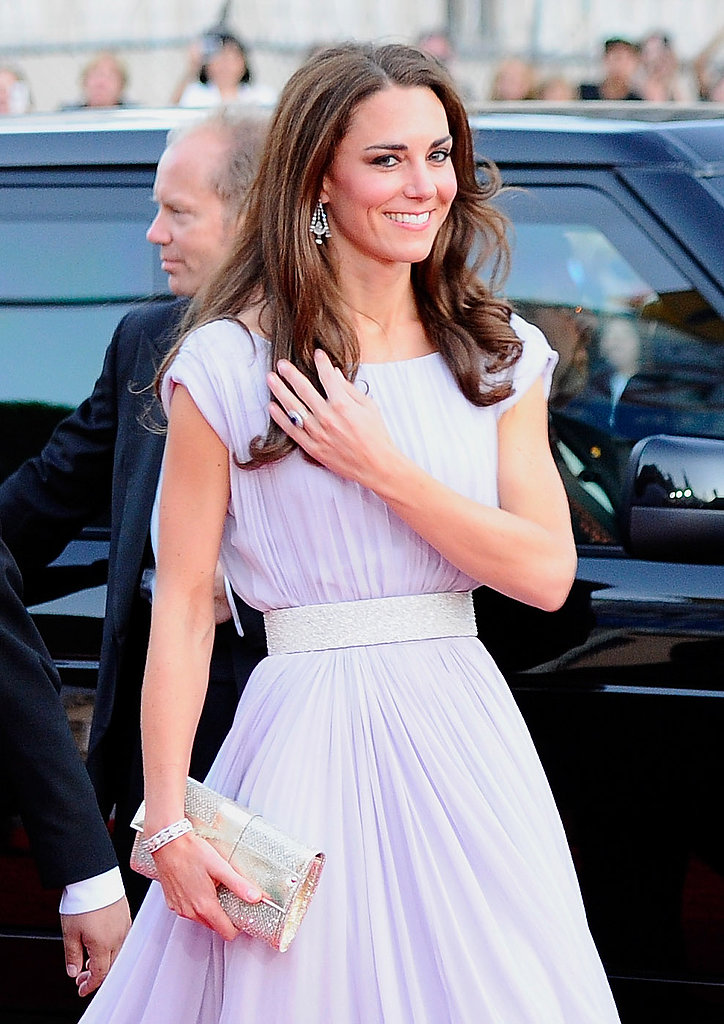 Kate's blow dry look came stateside during their visit to Los Angeles in 2011.