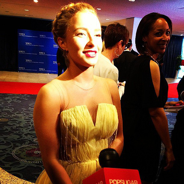 Although Hayden Panettiere told us she'd met the president before, this was her first White House Correspondents' Dinner.