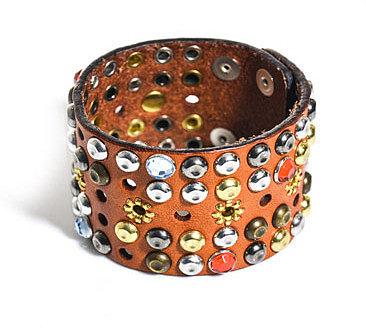 Isabel Marant Studded leather cuff