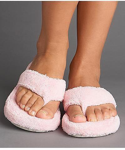 Acorn Spa Thong Slippers Footwear