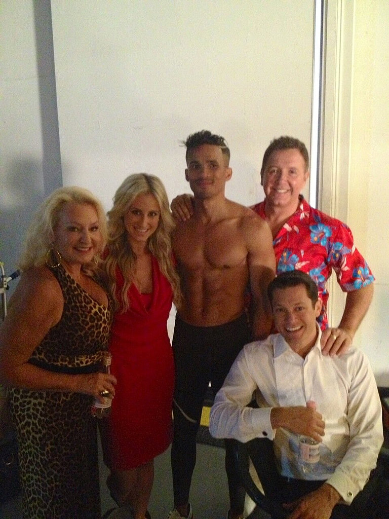 Some of the contestants gathered for a photo. Source: Twitter user pruemacsween