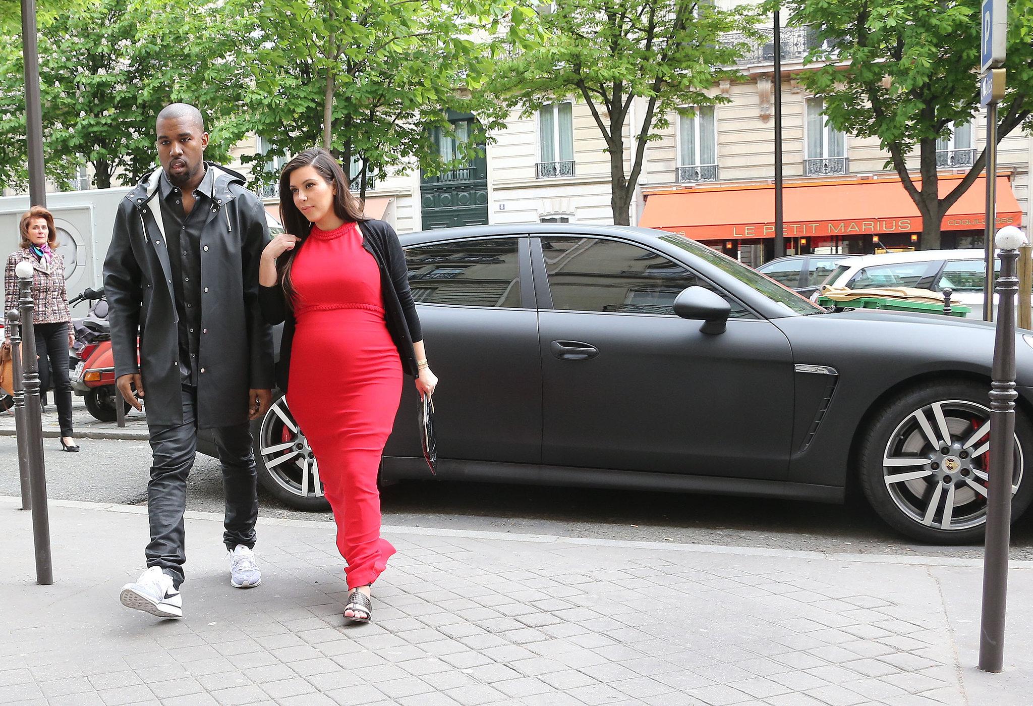 Kim and Kanye Say No Thanks to Baby Gifts