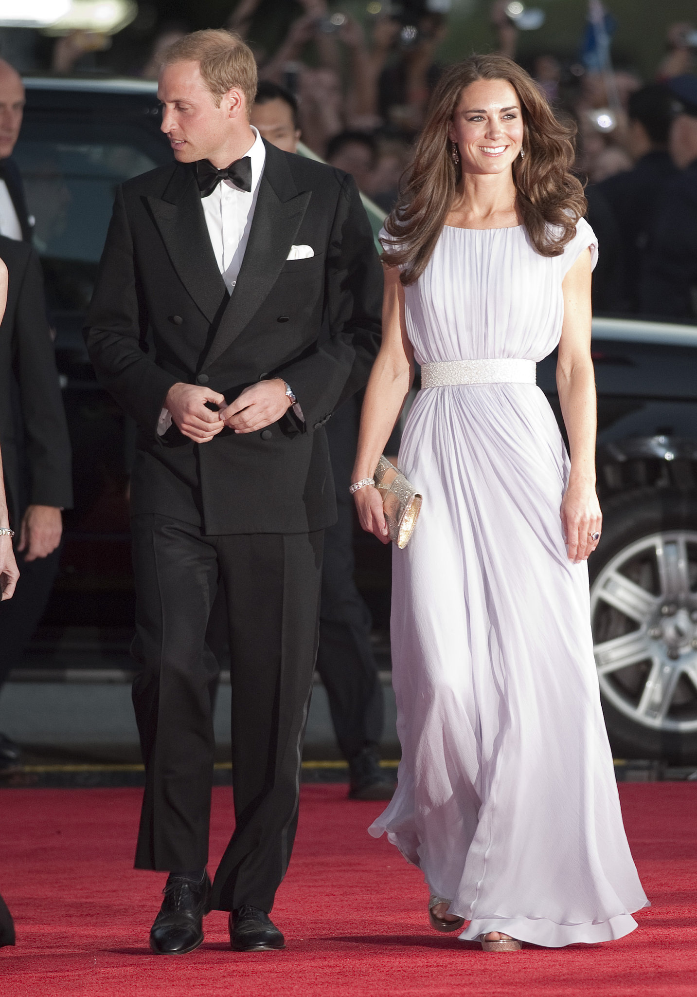 The Royal Couple at the BAFTA Brits to Watch Awards
