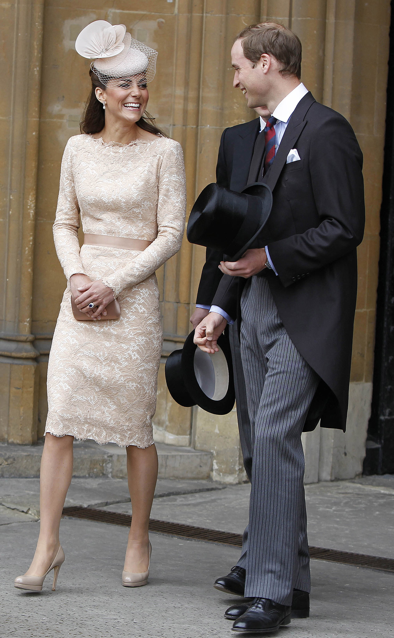 The Royal Couple at the Diamond Jubilee Luncheon