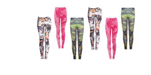 Girls Gone Wild: 10 Pairs of Printed Workout Tights