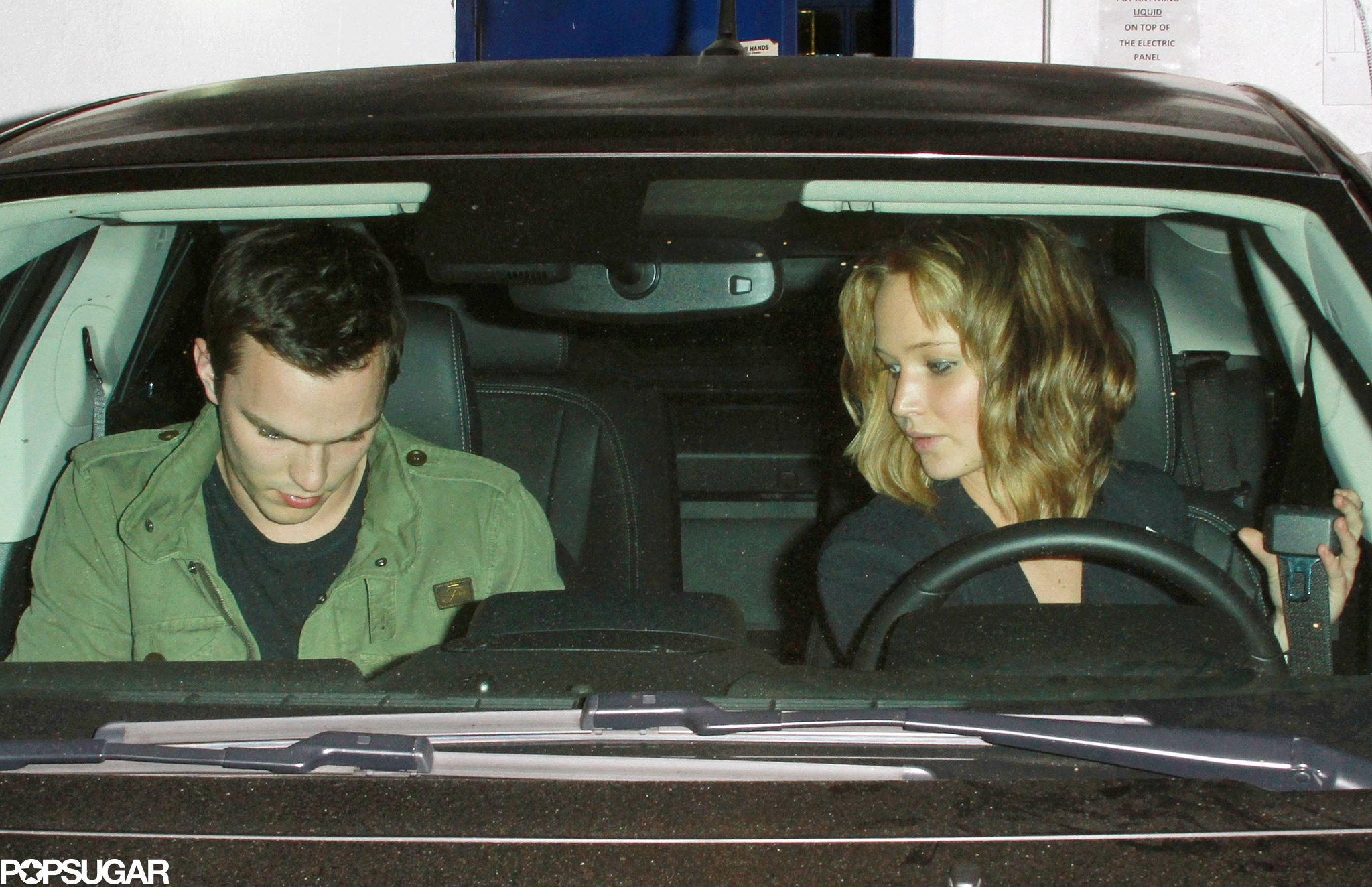 """Jennifer Lawrence and Her Ex Reunite For Dinner in a """"Private Room"""""""
