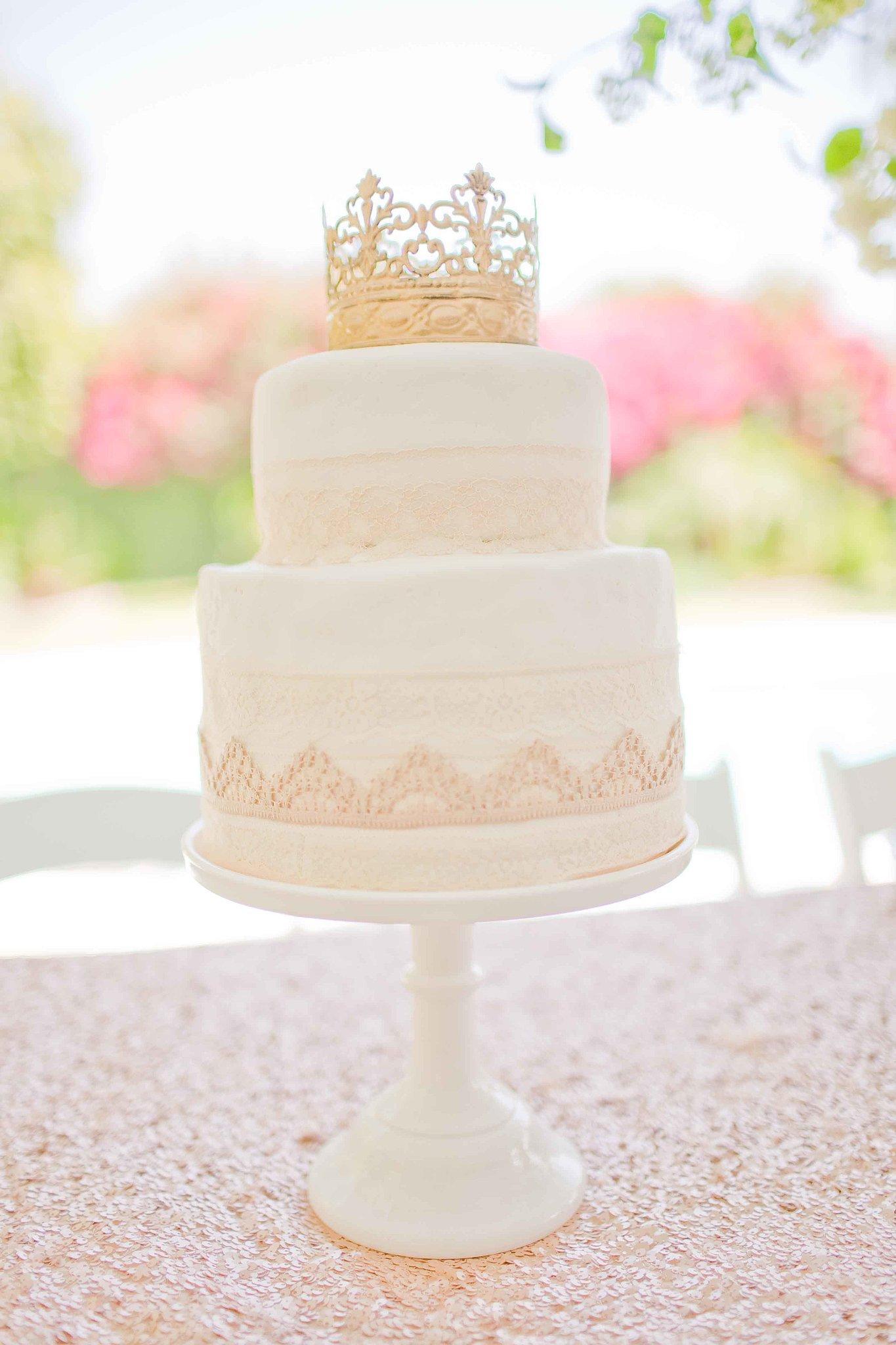A Royal Cake Topper