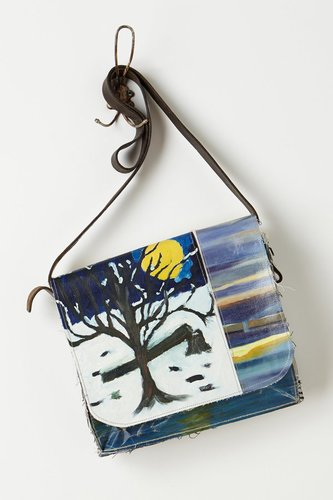 Composition Messenger Bag, Night Snow