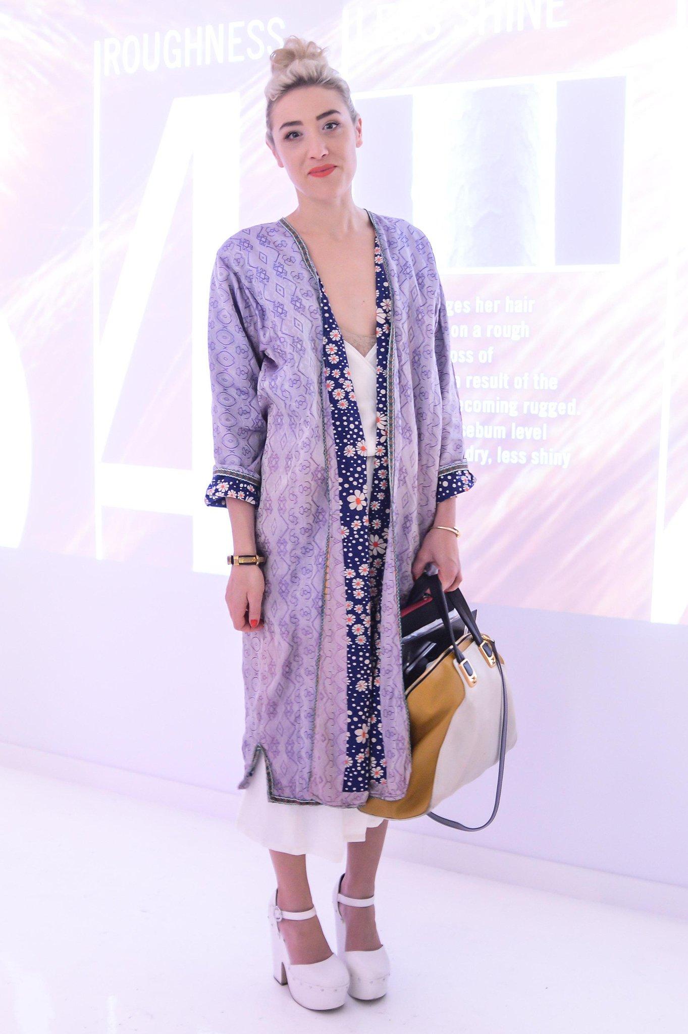 Mia Moretti at the Nexxus Art & Science of Hair Exhibition opening in New York. Source: Joe Schildhorn/BFAnyc.com