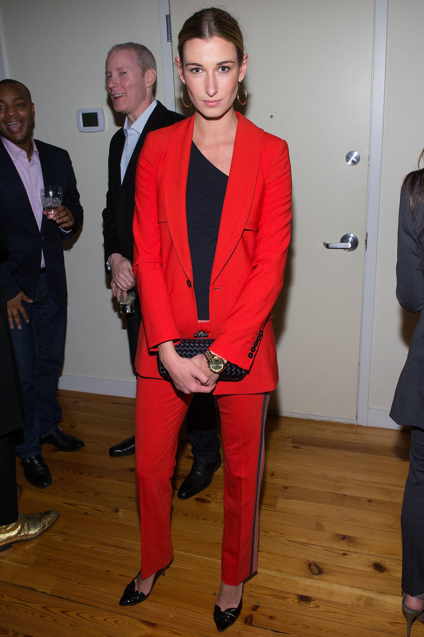 "Lauren Remington Platt at Alvin Valley's ""Belle De Jour"" dinner party in New York."