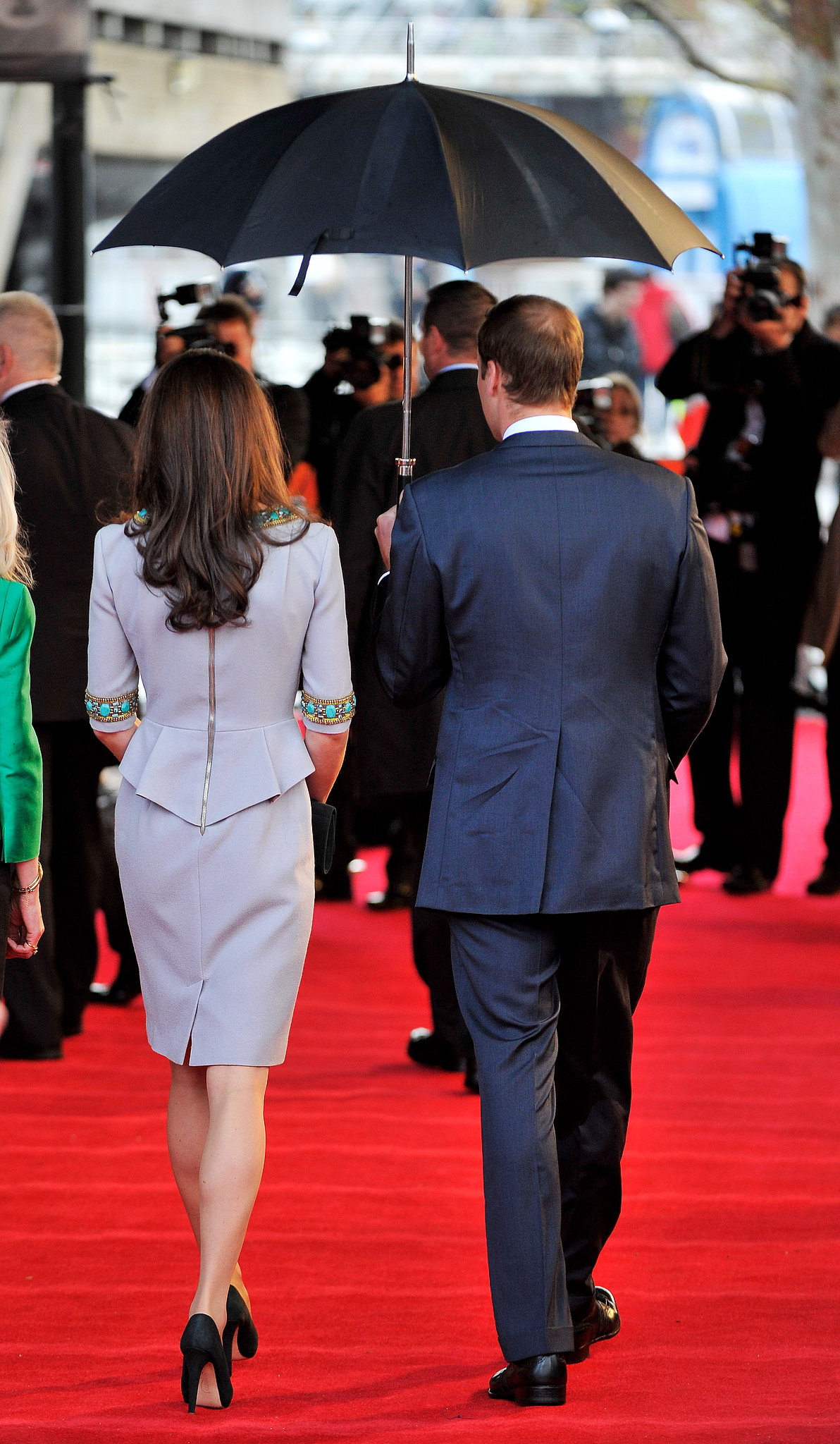 Will and Kate walked side by side into the premiere of African Cats in 2012.