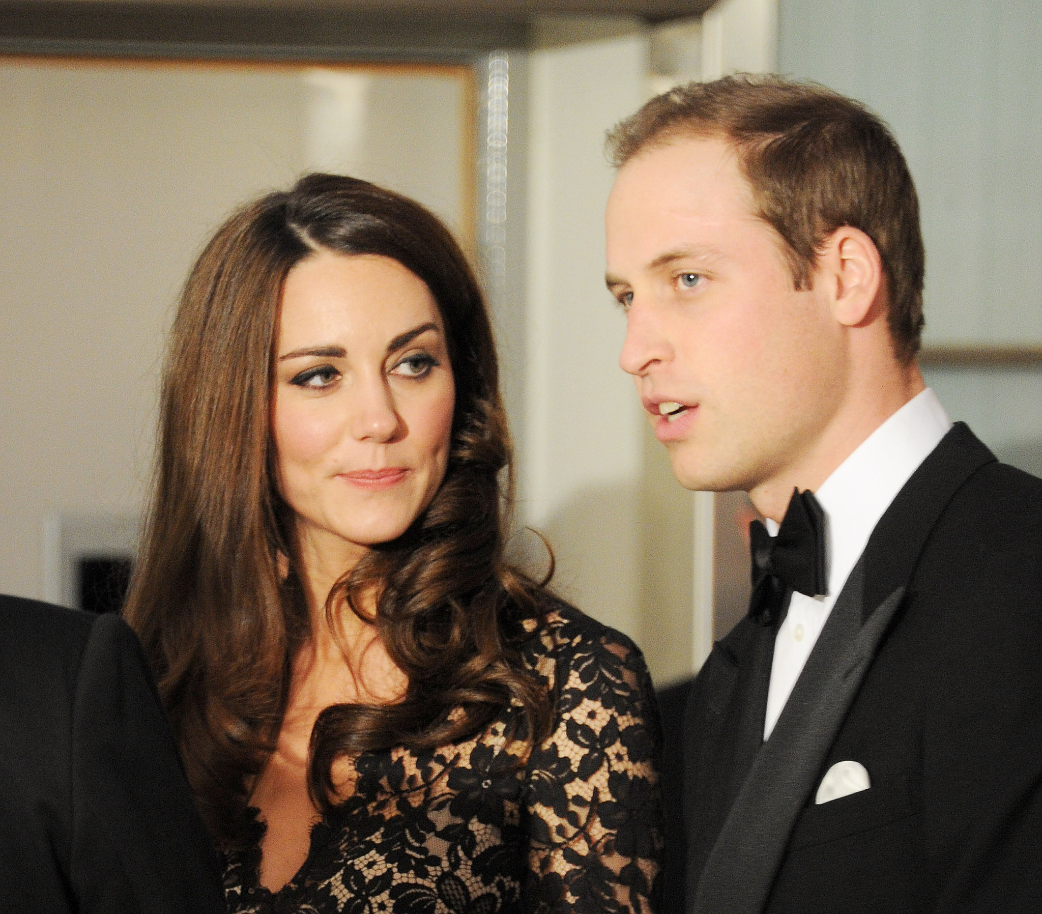 Kate kept her eyes on Will at the London premiere of War Horse in January 2012.