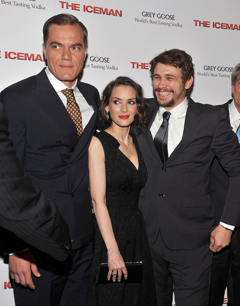James Franco and Winona Ryder Kiss Hello at Their Premiere