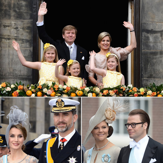 Royals From Around the World Celebrate Netherlands' New King