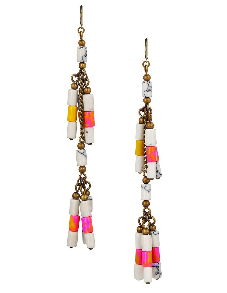 Sure, these Isabel Marant Howlite beaded earrings ($165) may be a bit of a splurge, but I can't help but think that they'd go with almost everything I'll be wearing this Summer. I've got music festivals on the brain, and while the point is to keep things simple, I think these dangling boho earrings will add just the right amount of dynamic. — Marisa Tom