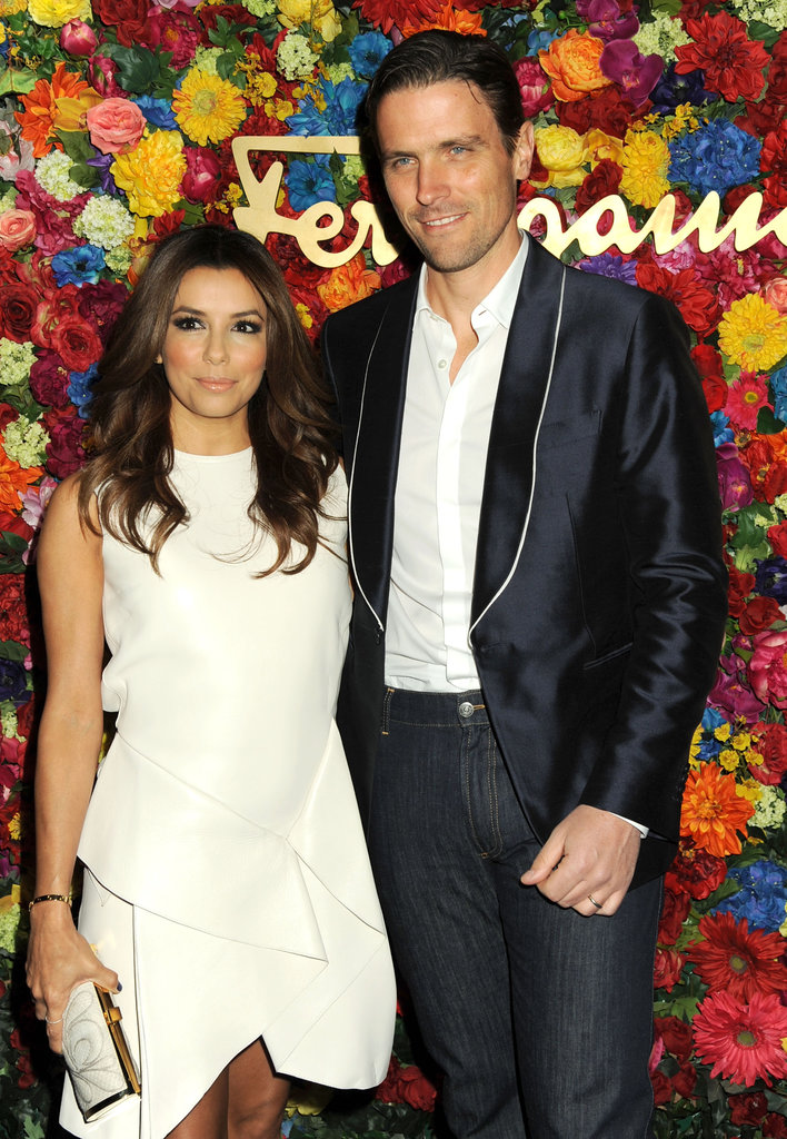 Eva Longoria paired up with James Ferragamo in NYC.