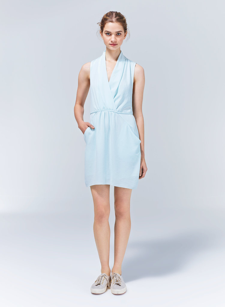 It's hard figuring out what to wear to the office when it's hot outside, but I found the perfect solution thanks to this Wilfred Sabine dress ($165). I plan on making good use of this airy, light, yet still work-appropriate piece all season long. — Chi Diem Chau