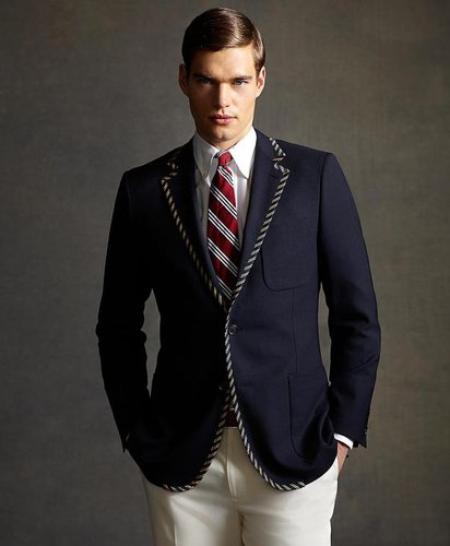 The Great Gatsby Collection Tipped Blazer