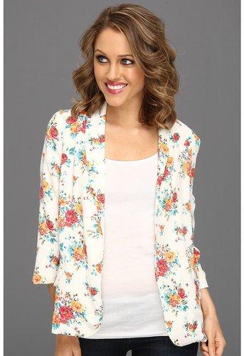 Gabriella Rocha - Warna Floral Blazer (White) - Apparel