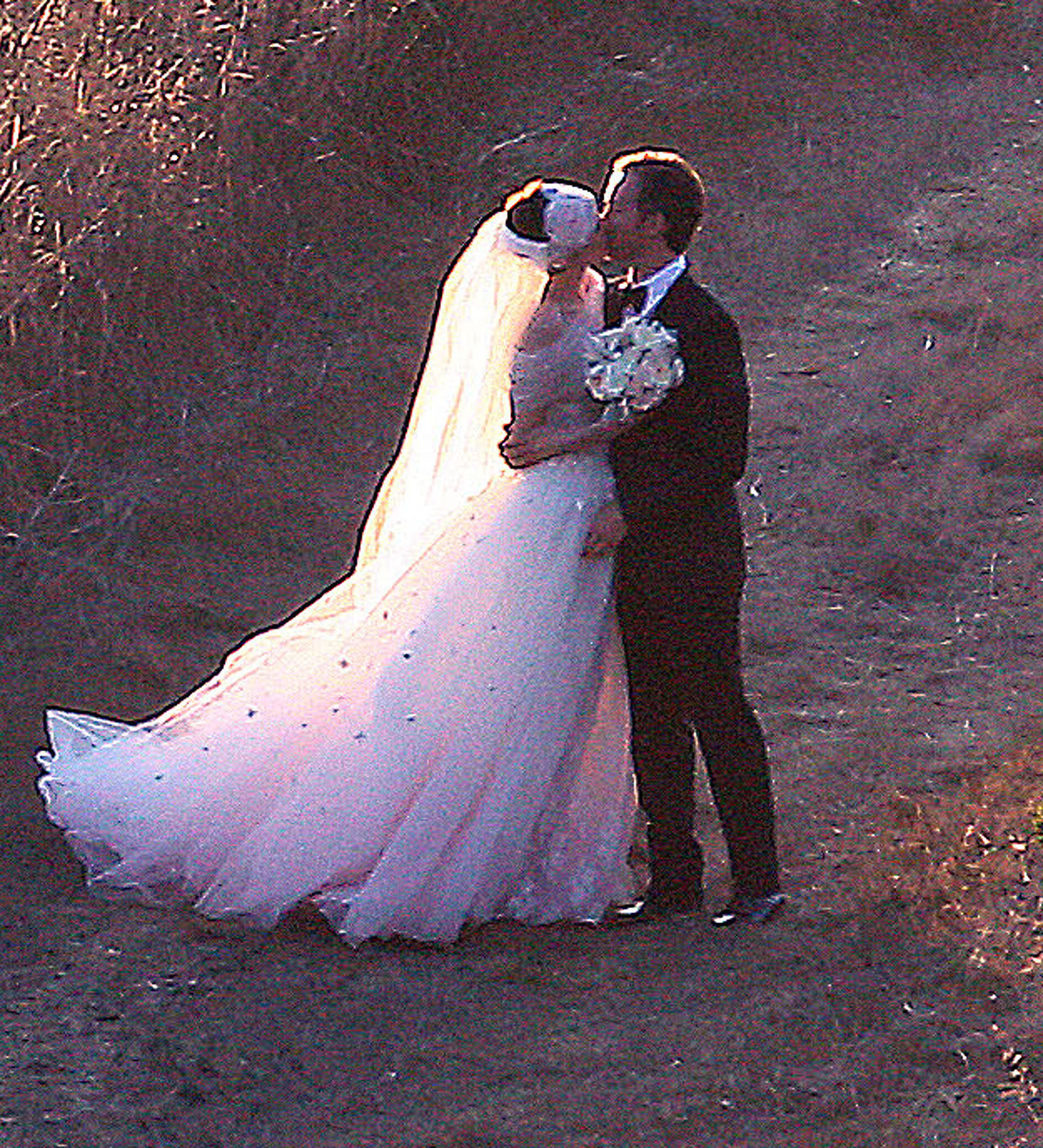 Anne Hathaway and Adam Shulman got married in Big Sur, CA, in September 2012.