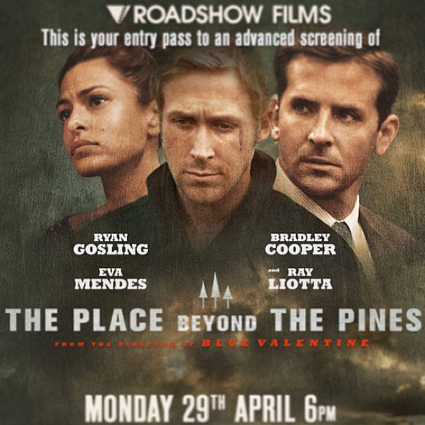 Celebrity and entertainment editor Jess took in a viewing of new movie, The Place Beyond The Pines  , this week. Starring Ryan Gosling and Bradley Cooper, Jess said it's long (2 hours and 20 minutes!) but with great performances and a compelling plot about families . . . But the two main stars only have about five minutes of interaction during the film! It hits cinemas on May 9.