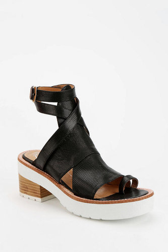 Jeffrey Campbell Cyprus Heeled Toe-Hold Sandal
