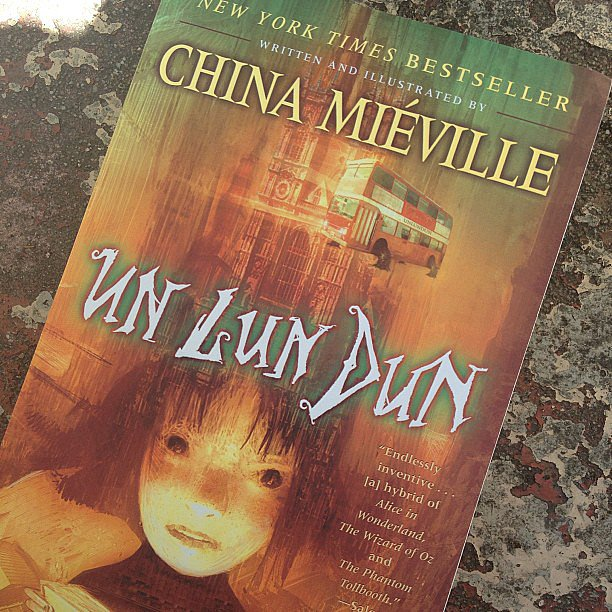 """Susimay noted while reading China Miéville's Un Lun Dun that it was a """"perfect weekend for reading in the sun."""""""