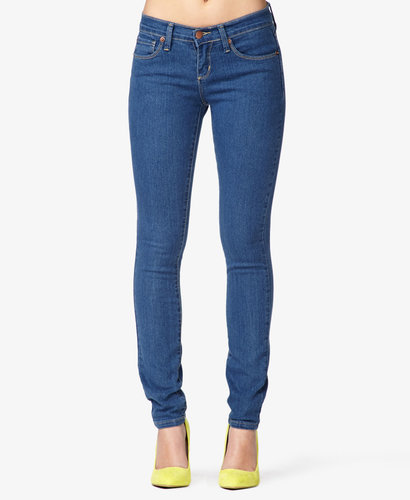 FOREVER 21 Petite Stretch Skinny Jeans