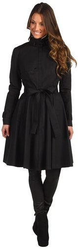 Robert Rodriguez - Fit and Flare Trench (Black) - Apparel