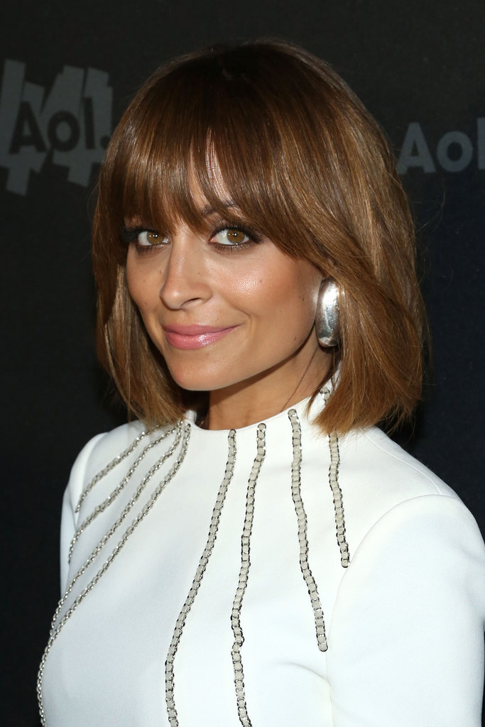 Nicole Richie and Alice Eve both updated their lob hairstyles with a new set of thick bangs earlier this week. Spring haircut inspiration perhaps?