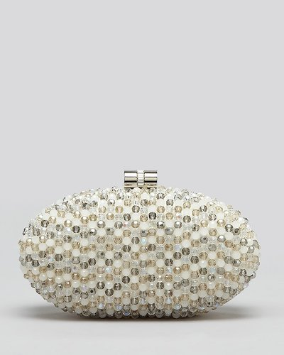 Sondra Roberts Clutch - Beaded Box