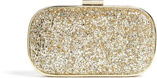 Anya Hindmarch Glitter Marano Clutch
