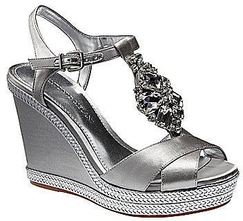 Antonio Melani Aubrey Metallic Sandals