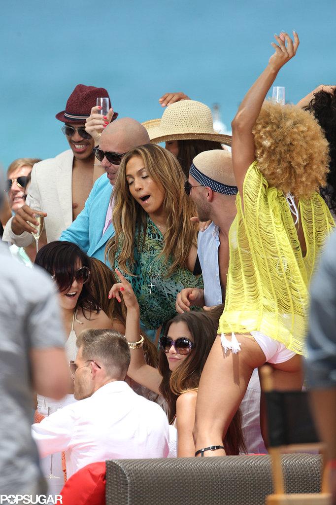 J Lo Safe After Gunshots Fired Near Her Sexy Video Shoot