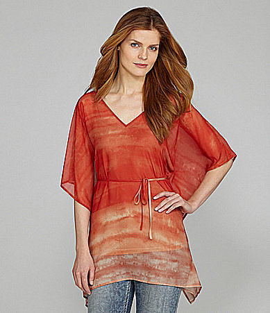 Nurture Short-Sleeve Printed Tunic