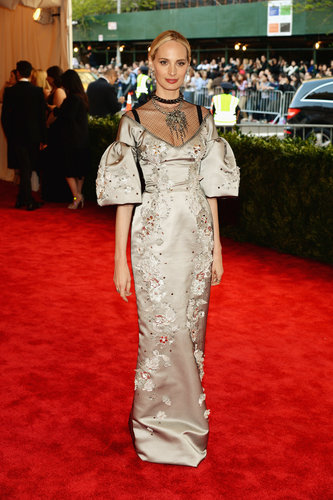 Lauren Santo Domingo at the Met Gala 2013.