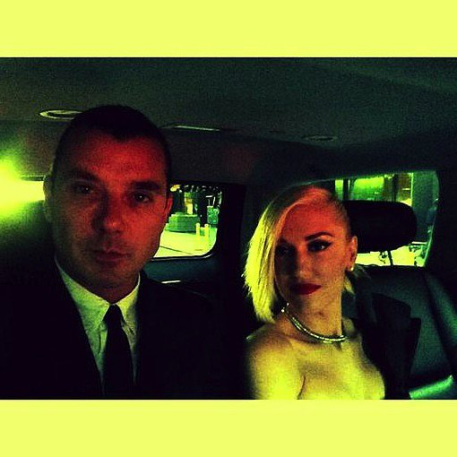 Gavin Rossdale and Gwen Stefani had a Met Gala date night. Source: Twitter user GavinRossdale