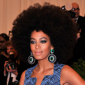 Pictures of Solange Knowles at the 2013 Met Gala