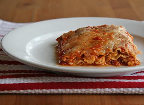 Spicy Cauliflower Lasagna