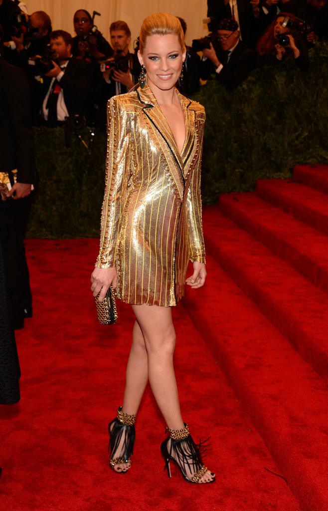 Elizabeth Banks at the Met Gala 2013.