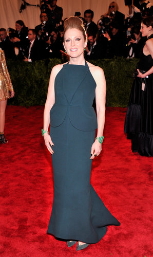 Julianne Moore at the Met Gala 2013.