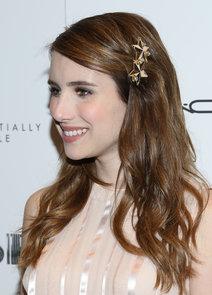 Emma Roberts' Star Hair Clip at Great Gatsby Screening