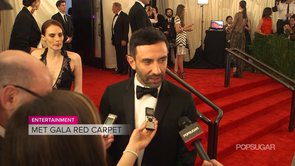 Givenchy's Riccardo Tisci Met Gala Interview   Video